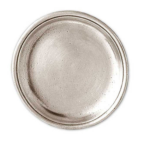 Osteria Round Coaster - 10 cm Diameter - Handcrafted in Italy - Pewter