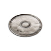 Palio Round Coaster (Set of 2) - 9.5 cm Diameter - Handcrafted in Italy - Pewter