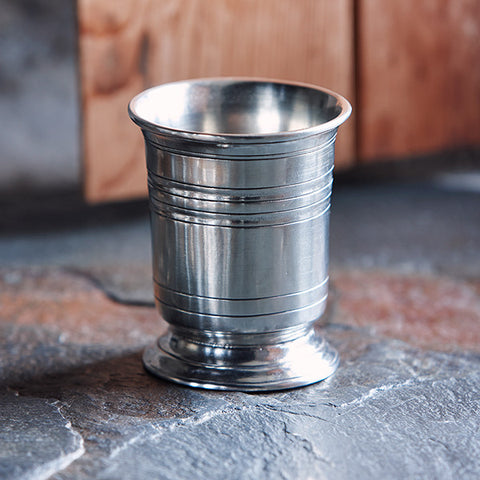 Piemonte Tumbler - 30 cl - Handcrafted in Italy - Pewter