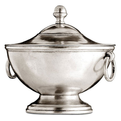 Pisa Tureen - 1 L - Handcrafted in Italy - Pewter