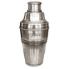Piemonte Cocktail Shaker - 21 cm Height - Handcrafted in Italy - Pewter
