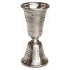 Piemonte Double Jigger - 11 cm Height - Handcrafted in Italy - Pewter