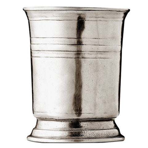 Piemonte Tumbler - 1.05 L - Handcrafted in Italy - Pewter