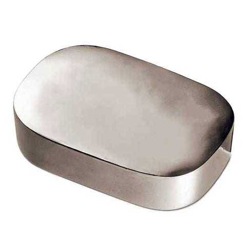 Regina Lidded Box - 12 cm x 8 cm - Handcrafted in Italy - Pewter