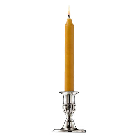 Roma Candlestick - 9 cm - Handcrafted in Italy - Pewter