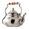 Samovar Teapot - 1.9 L - Handcrafted in Italy - Pewter