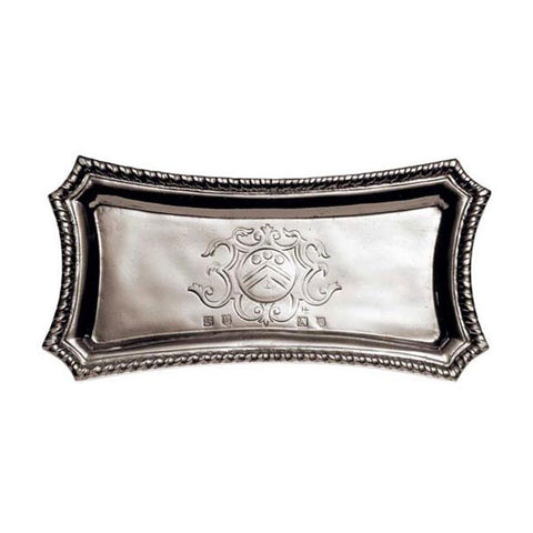 San Marco Pocket Tray - 19 cm x 9 cm - Handcrafted in Italy - Pewter