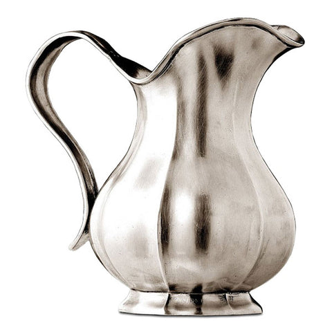 Siracusa Pitcher - 1.7 L - Handcrafted in Italy - Pewter