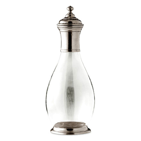 Velletri Decanter - 1 L - Handcrafted in Italy - Pewter & Glass