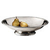 Veneto Footed Bowl - 37.5 cm Diameter - Handcrafted in Italy - Pewter