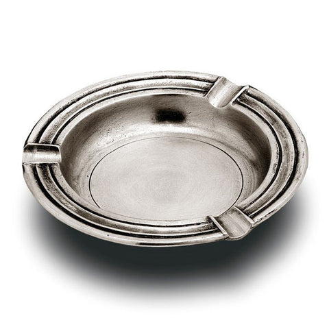 Vesuvio Ashtray - 12.5 cm - Handcrafted in Italy - Pewter