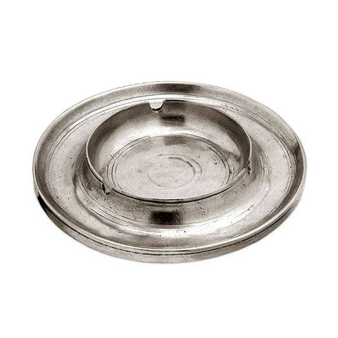 Vulcano Ashtray - 15 cm - Handcrafted in Italy - Pewter