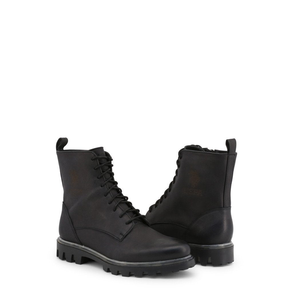 Bottes en cuir à lacets style chunky - U.S. Polo