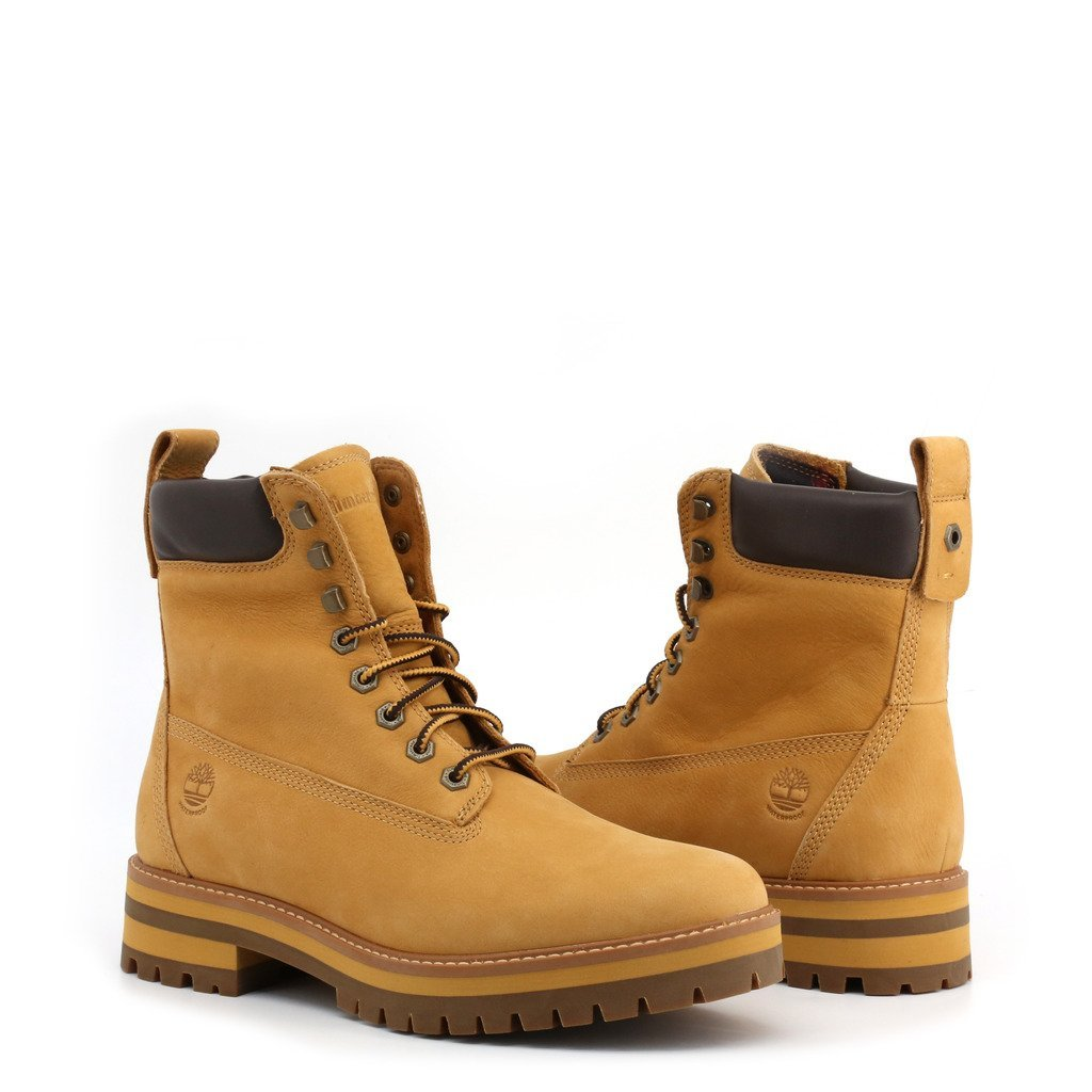 Bottes en cuir - Taupe - Timberland - CURMA-GUY