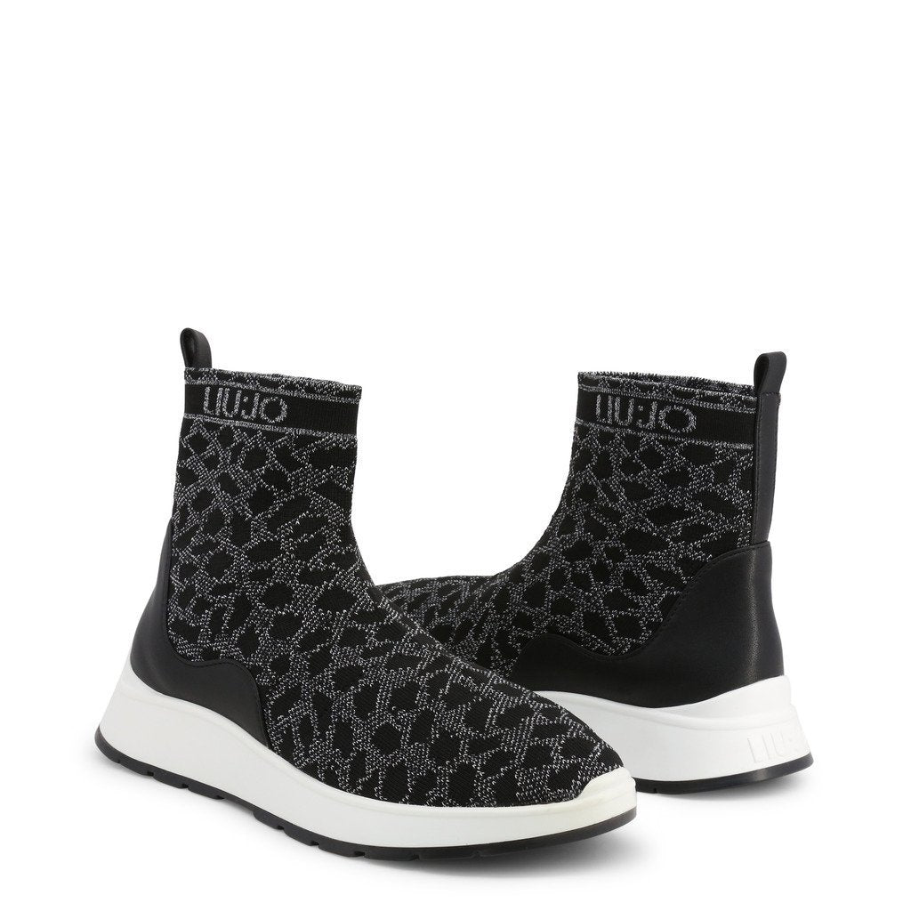 Bottines effet animal - Noir - Liu Jo
