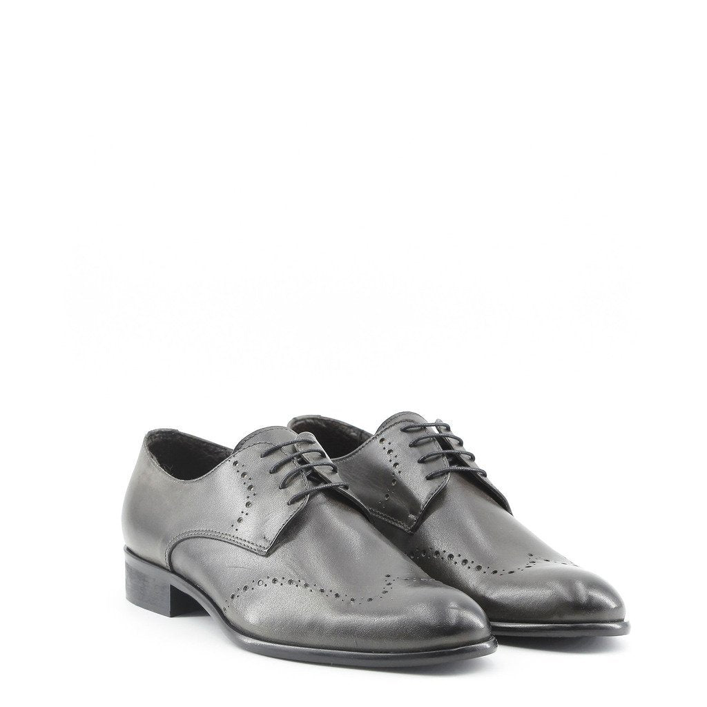 Chaussures derby en cuir - Gris - Made in Italia ELIO