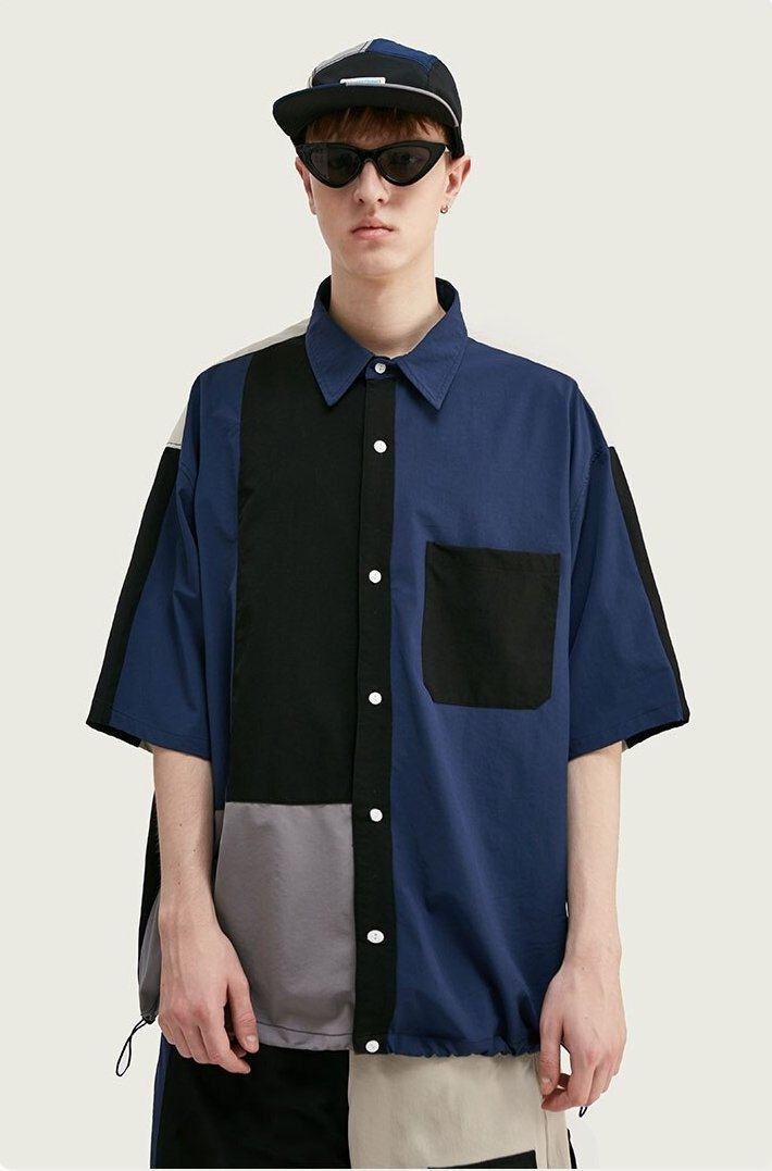 Chemise Streetwear <br> ColorBlock