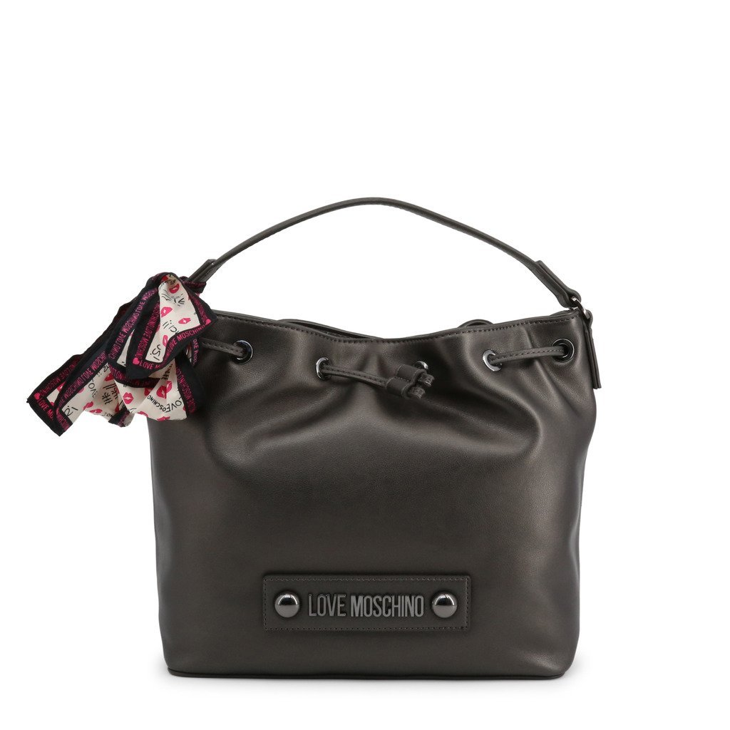 Sac à Main gris métallique <br> Love Moschino