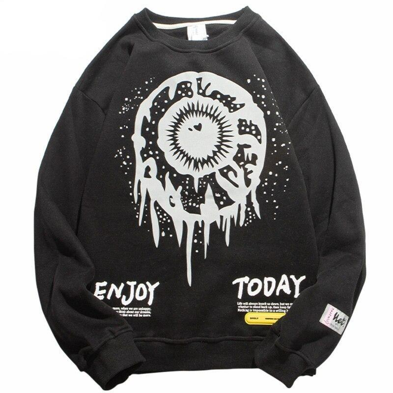 Sweatshirt Streetwear <br> EYE