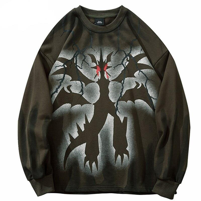 Sweatshirt Streetwear <br> MonsteR
