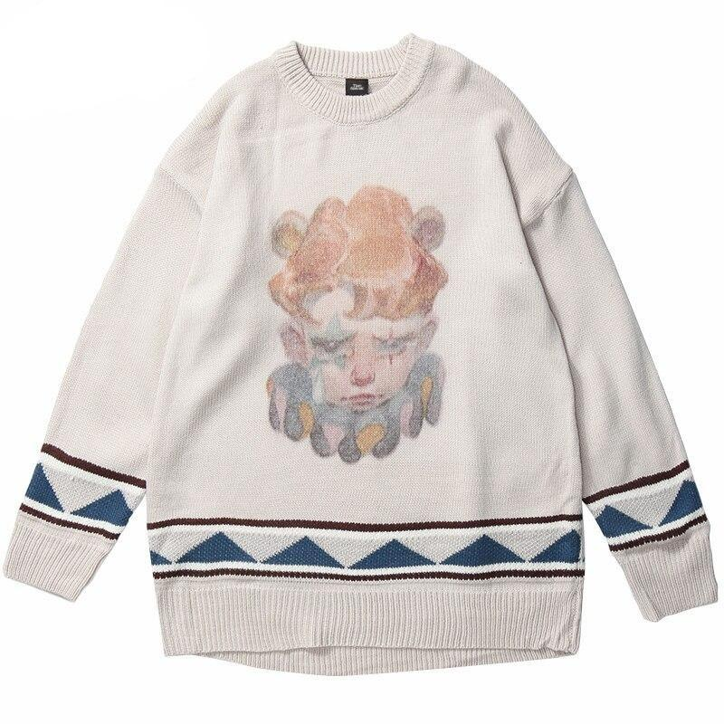 Sweatshirt Streetwear <br> Sad Clown
