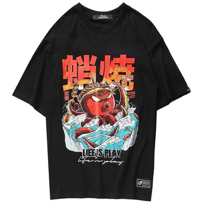 T Shirt Streetwear <br> Octopus Men - Urban Vertigo