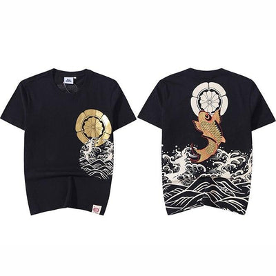 T shirt Streetwear <br> Waves - Urban Vertigo