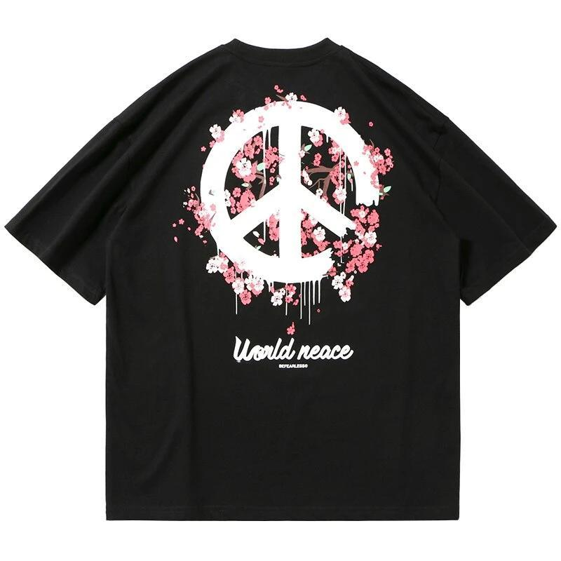 T-shirt Streetwear <br> World Peace