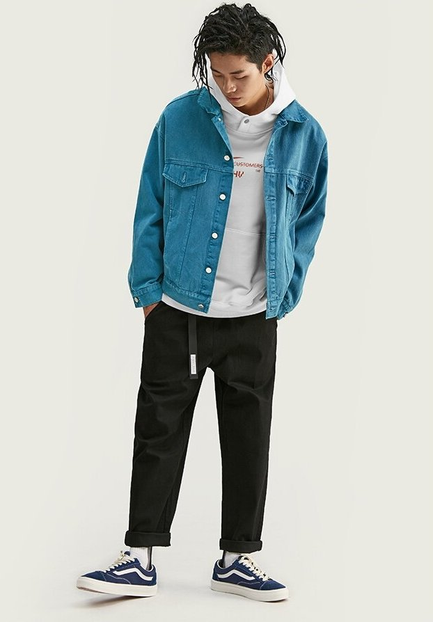 Veste en Denim Streetwear <br> Ward