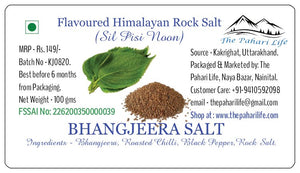 Bhangjeera & Pepper Salt