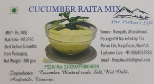 Pahari Cucumber Raita Mix