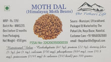 Load image into Gallery viewer, Organic Moth Beans