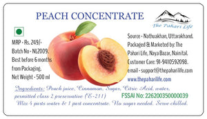 Peach Concentrate