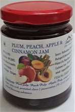 Load image into Gallery viewer, Plum, Peach, Apple & Cinnamon Jam