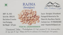 Load image into Gallery viewer, Organic Rajma (Betalghat)