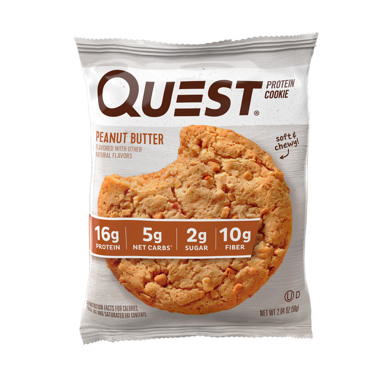 Quest Protein Cookie, Snack Proteico (59 gr)