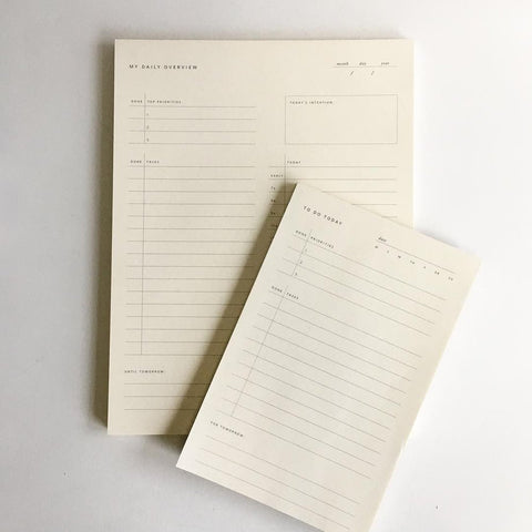 Ramona and Ruth Notepads
