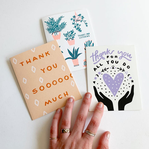 Greeting Cards: Thank You