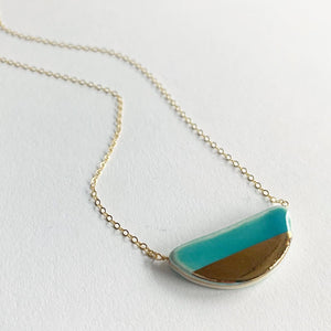 Zoe Comings Large Pebble Necklace