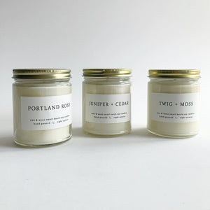 Wax and Wane Candles