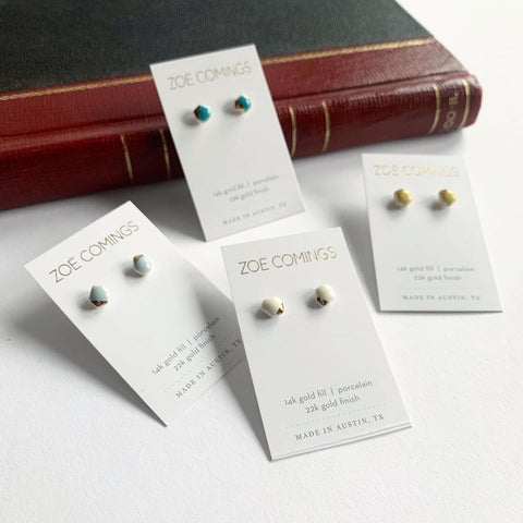 Zoe Comings Tiny Geo Studs