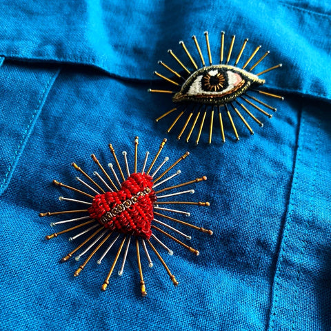 Trovelore Handcrafted Talisman Brooches