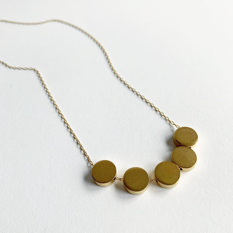 Baleen Large Dots Necklace