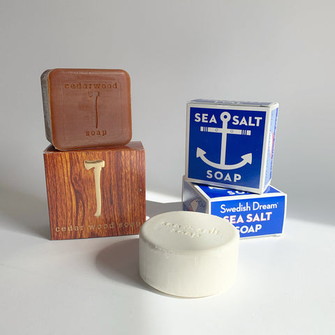 Cedar & Sea Salt Soap