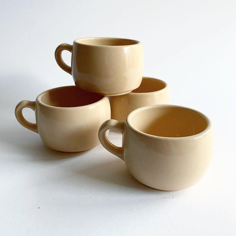 Vintage Set of Desert Ware Mugs - Set of 4