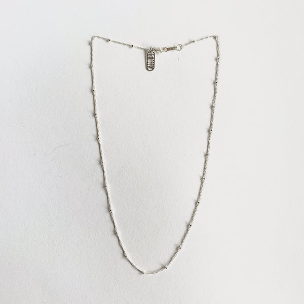 Baleen Gossamer Dot Necklace