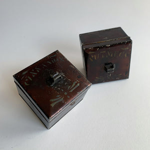 Vintage Pair of Spice Boxes