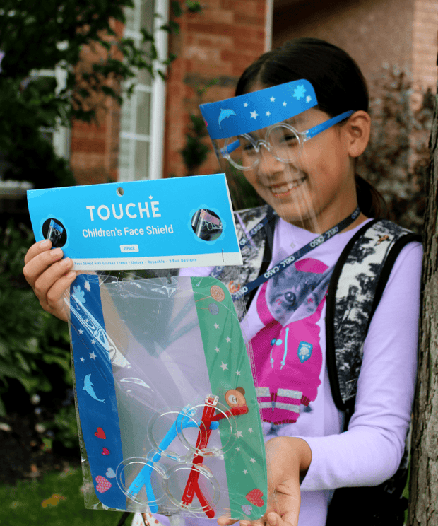 Childrens Face Shield by Touché | 2 Pack