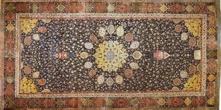 Twin Persian Carpets Take Different Paths