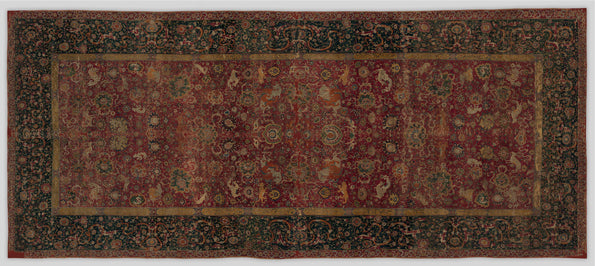 The Metropolitan Museum of Art Conserves an Emperor's Carpet